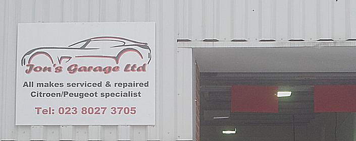 Jon S Garage Citroen Peugeot Specialists